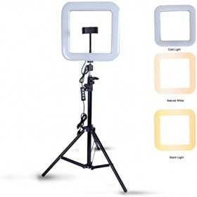 Ring Light Ledli Kare Tripod D21
