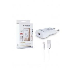 Syrox Lighting Apple Şarj Aleti 1A Set